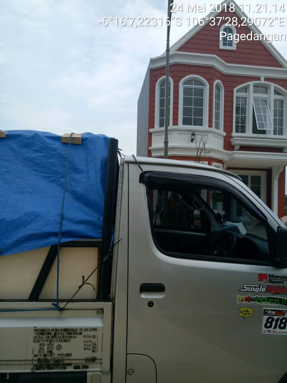 Sewa rental mobil pick up Pagedangan