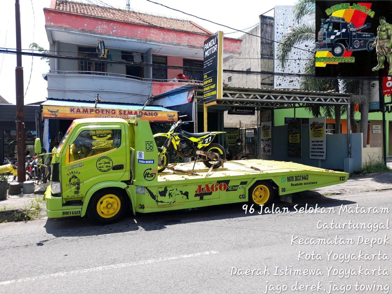 Rental mobil Truck Jogja seindonesia
